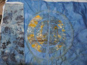 blue 1 on moon