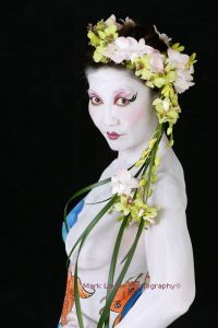 orchid headpiece model 1b