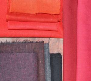 red experiment fabrics
