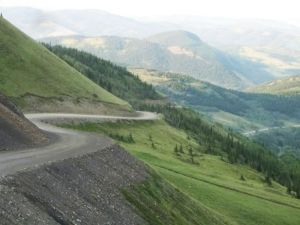 from the top of highway 532 alberta