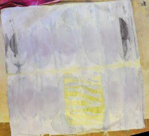 cotton eco over procion silk in tansy cc