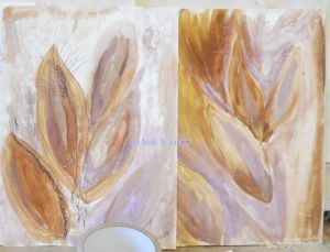 milkweed paintstudies C