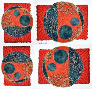 embroidered silk velvet moons
